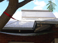 solar air conditioning and solar heating